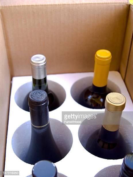 Coffret de bouteilles de vin, Club Formule emballage cadeau expédition