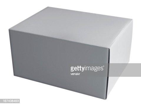 Box white : Stock Photo