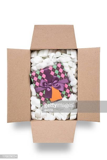 Box mit Geschenk