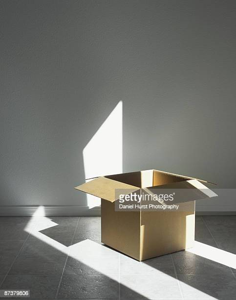 Box with light
