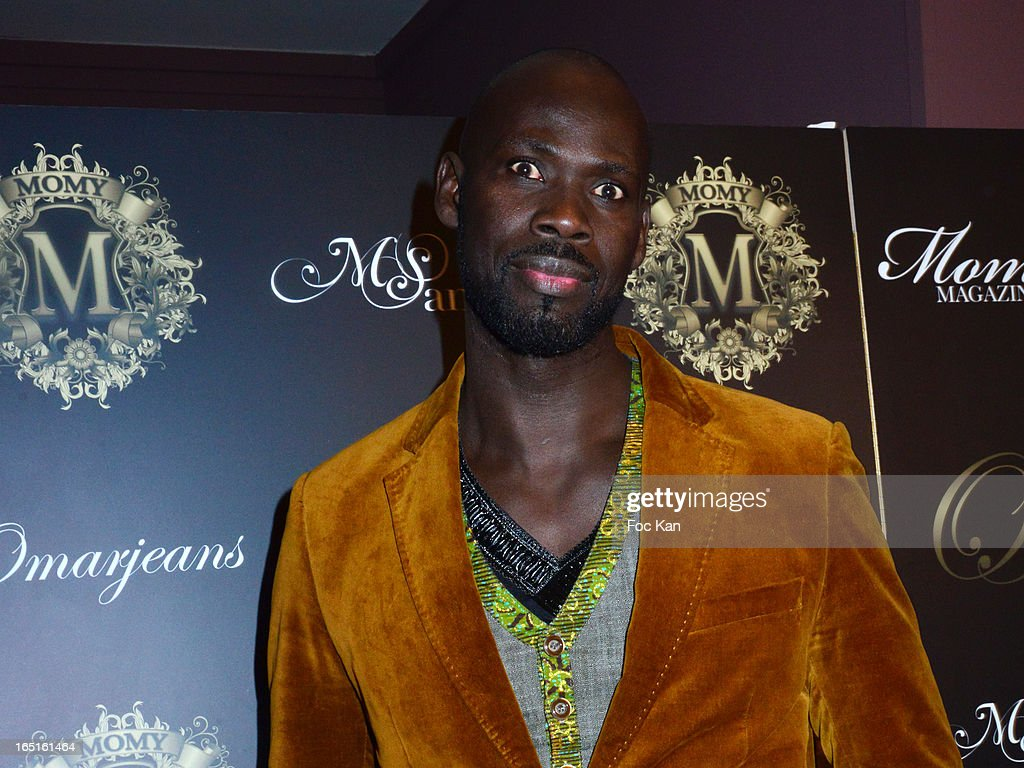 Boxer / actor Aly Yague attends the 'OmarJeans' Launch Party At The Pavillon Champs Elysees on March 31, 2013 in Paris, France.