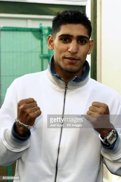 Boxer Amir Khan at BBC Radio 1's Big Weekend in Preston