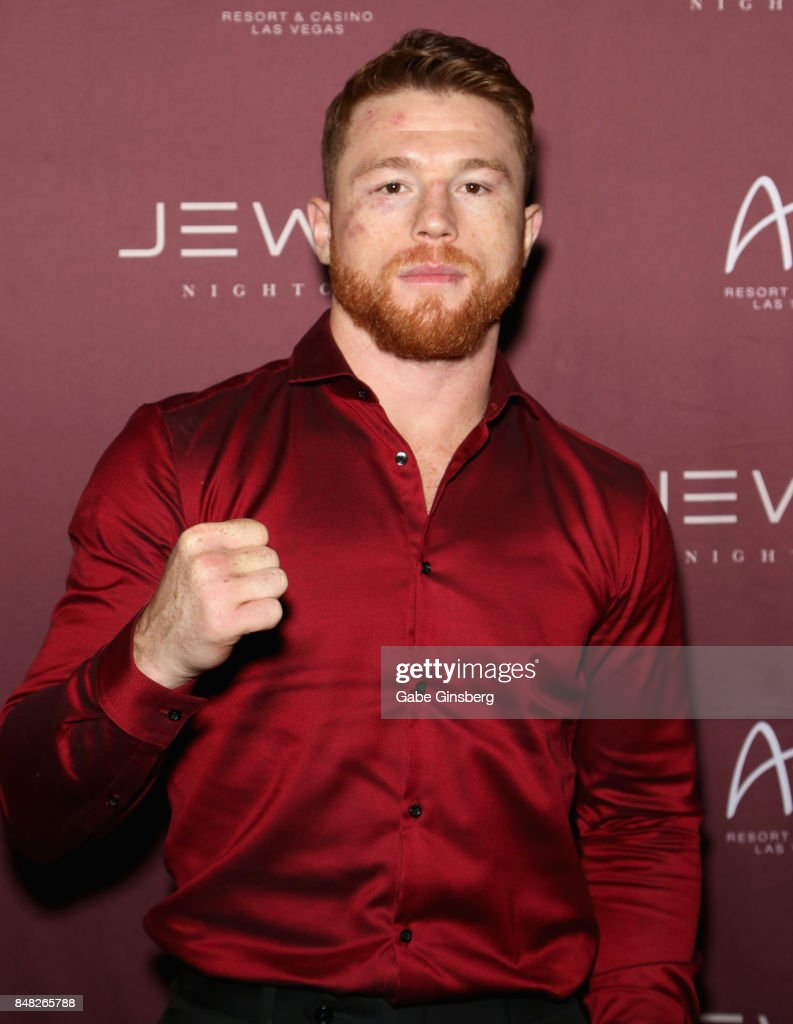 Canelo Alvarez Hosts Official After-Party At Jewel Nightclub Inside ARIA Resort & Casino