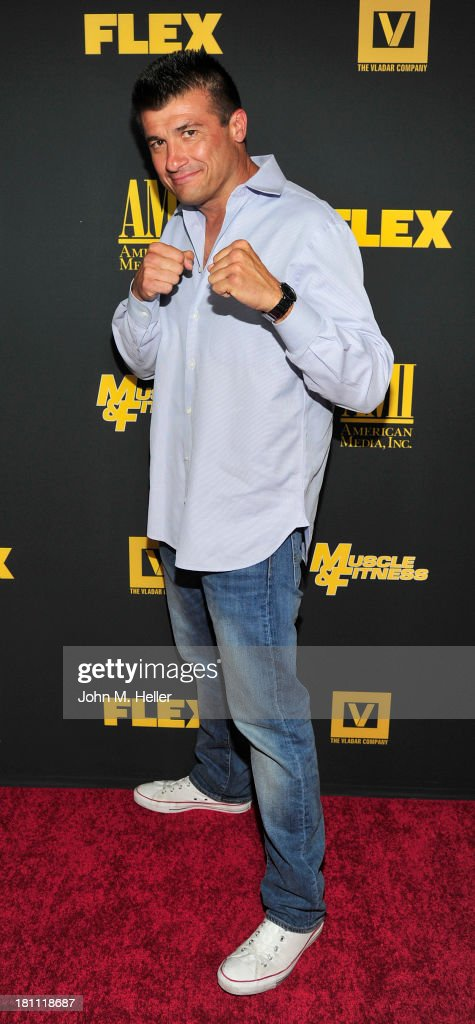 Boxer Danny Musico attends the Los Angeles premiere of 'Generation Iron' at the Chinese 6 Theatres in Hollywood on September 18, 2013 in Hollywood, California.