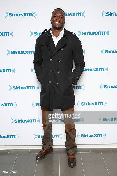 Boxer Deontay Wilder visits the SiriusXM Studios on January 11 2016 in New York City