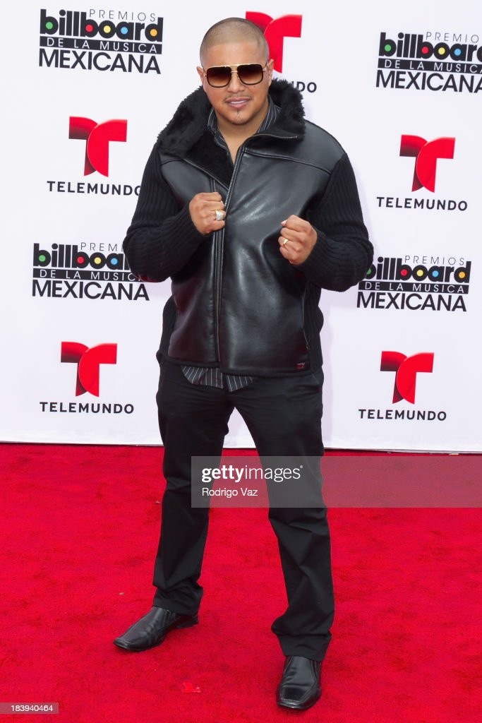 Boxer Fernando Vargas attends the 2013 Billboard Mexican Music Awards arrivals at Dolby Theatre on October 9, 2013 in Hollywood, California.