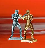 Boxer Figurines