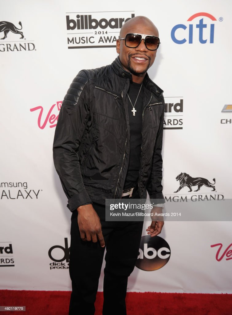 Boxer Floyd Mayweather attends the 2014 Billboard Music Awards at the MGM Grand Garden Arena on May 18, 2014 in Las Vegas, Nevada.