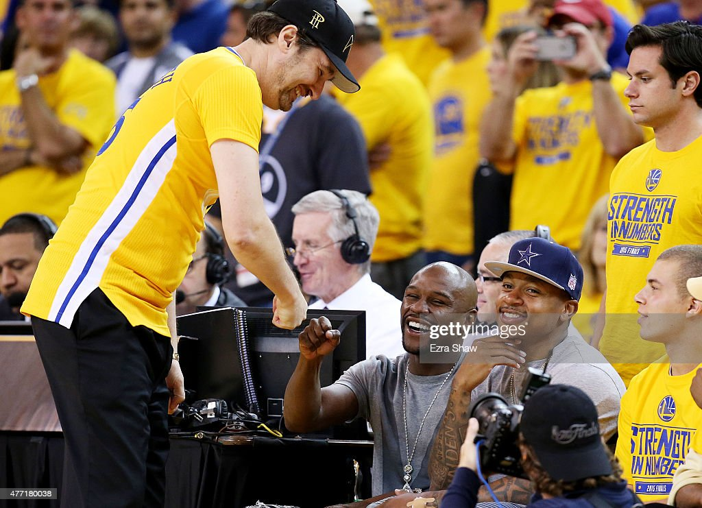 Celebrities At The 2015 NBA Finals | Getty Images