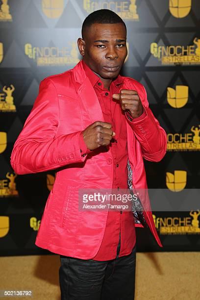 Boxer Guillermo Rigondeaux attends Univision Deportes 2015 at Univision Studios on December 20 2015 in Miami Florida