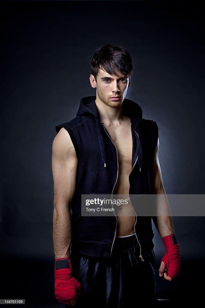 Boxer, gym, men's, health, : Stock Photo