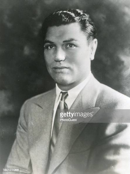 Boxer Jack Dempsey late 1920s or early 1930s