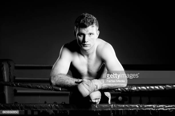 Boxer Jeff Horn poses for a photo at the Stretton Boxing Club on January 12 2017 in Brisbane Australia