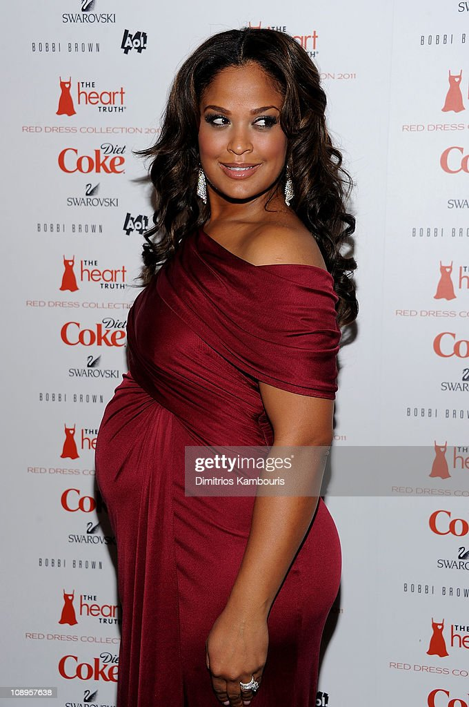 Boxer Laila Ali attends the Heart Truth's Red Dress Collection 2011 during Mecerdes-Benz fashion week at The Theatre at Lincoln Center on February 9, 2011 in New York City.