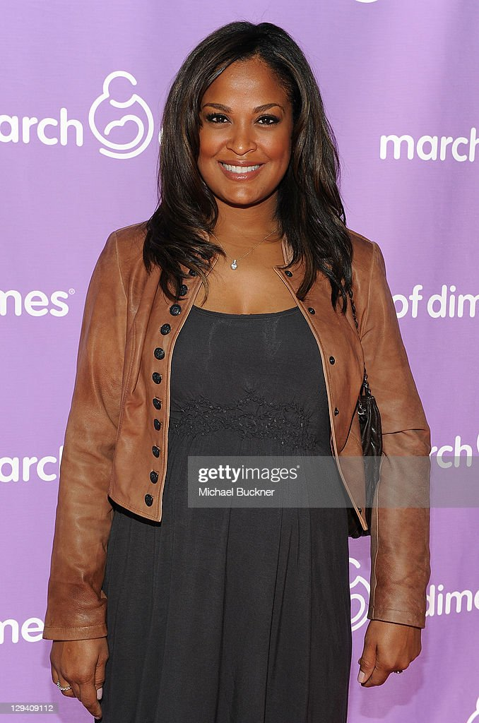 Boxer Laila Ali attends the March of Dimes Foundation & Samantha Harris Host 5th Annual Celebration of Babies Luncheon held at the Four Season Hotel Beverly Hills on November 13, 2010 in Beverly Hills, California.