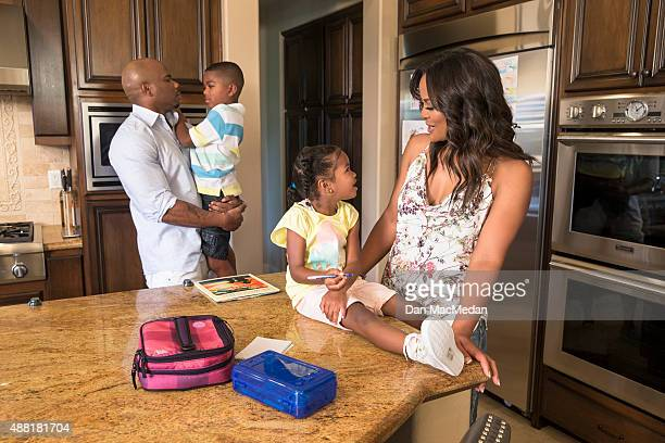Boxer Laila Ali is photographed for USA Today's Back to School Magazine on May 8 2015 in Calabasas California PUBLISHED IMAGE