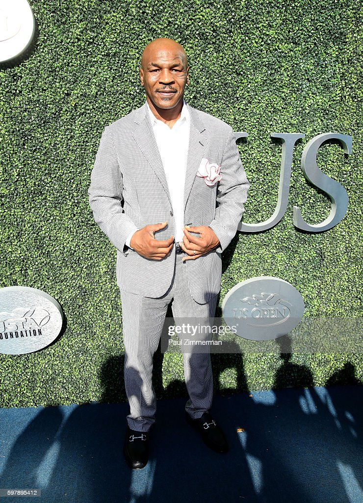 Boxer Mike Tyson attends the 2016 US Open opening night at USTA Billie Jean King National Tennis Center on August 29, 2016 in New York City.