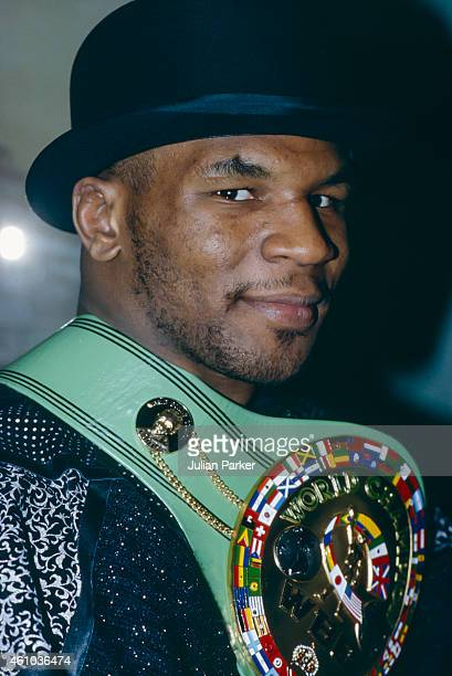 Boxer Mike Tyson in London on March 20 1987 in London United Kingdom