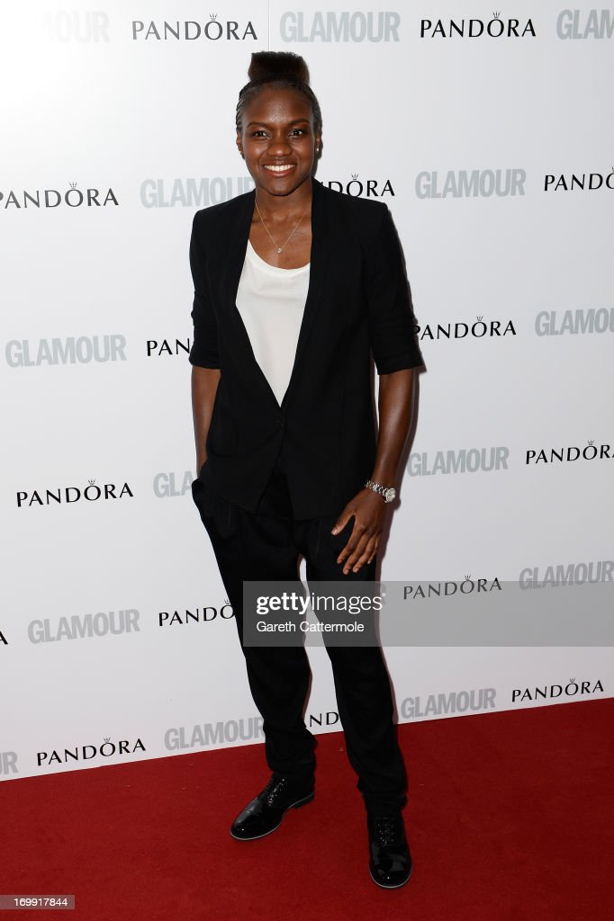 Boxer Nicola Adams attends Glamour Women of the Year Awards 2013 at Berkeley Square Gardens on June 4 2013 in London England