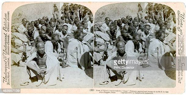 Boxer prisoners captured and brought in by the US 6th Cavalry Tientsin China 1901 The Boxer Uprising or Boxer Rebellion was a Chinese rebellion from...