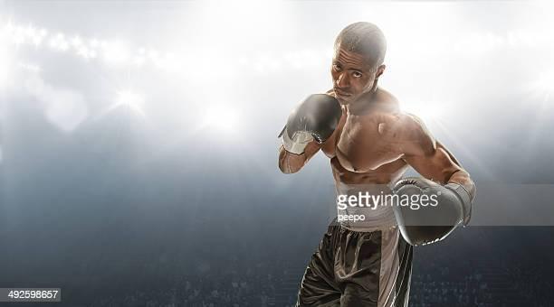 Boxeador dispuesto a luchar