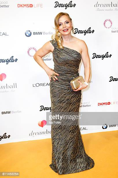 Boxer Regina Halmich attends the Dreamball 2016 at Ritz Carlton on September 29 2016 in Berlin Germany