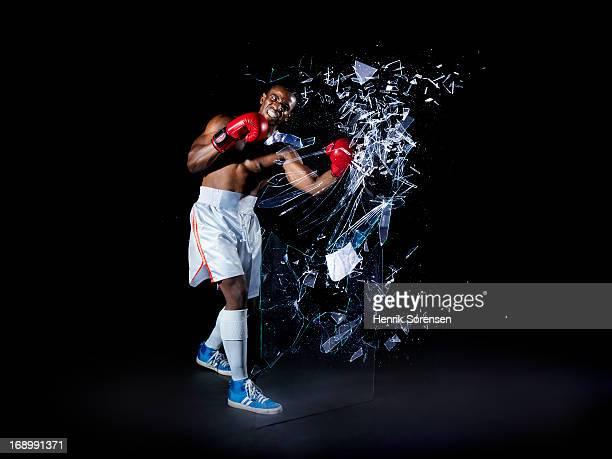Boxer shattering barrier