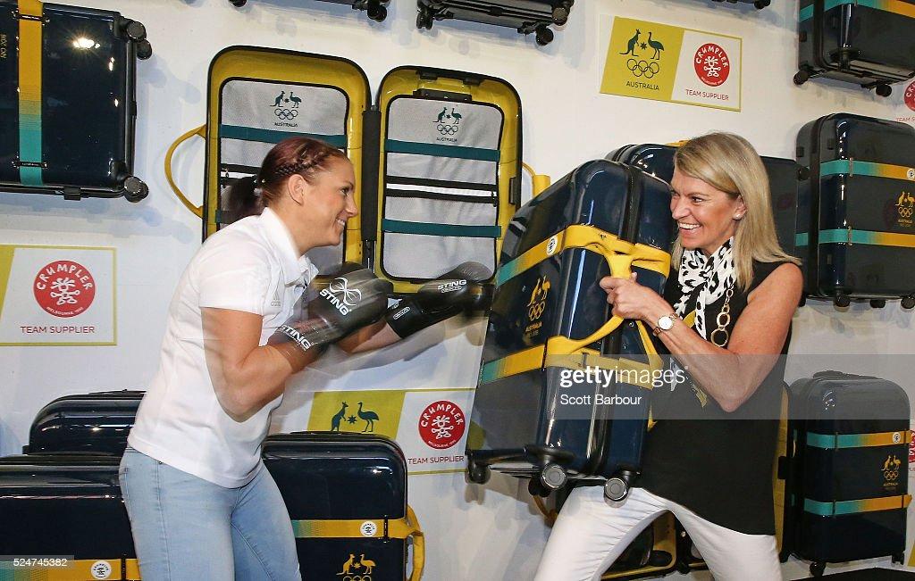 Australian Olympic Games Crumpler Luggage Launch