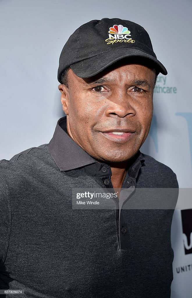 Boxer Sugar Ray Leonard attends the 9th Annual George Lopez Celebrity Golf Classic to benefit The George Lopez Foundation at Lakeside Golf Club on May 2, 2016 in Burbank, California.