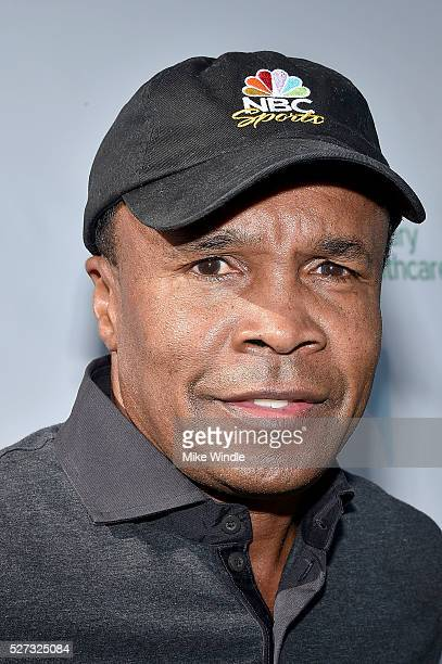 Boxer Sugar Ray Leonard attends the 9th Annual George Lopez Celebrity Golf Classic to benefit The George Lopez Foundation at Lakeside Golf Club on...
