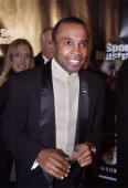 Boxer Sugar Ray Leonard attends the Sports Illustrated Sportsman of the Year 2000 awards ceremony December 12 2000 in New York City
