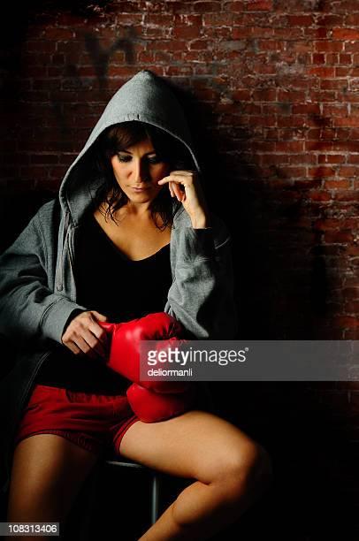 Boxer Frau