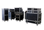 boxes equipment of concert