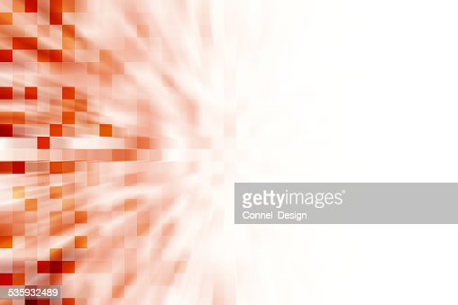 Boxes fading, copy space : Stock Photo