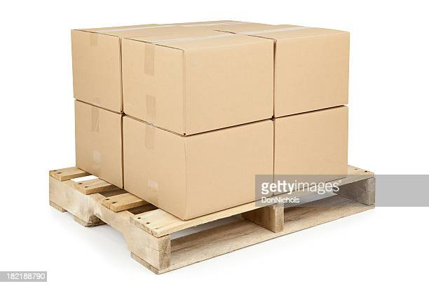 Boxes on Shipping Pallet