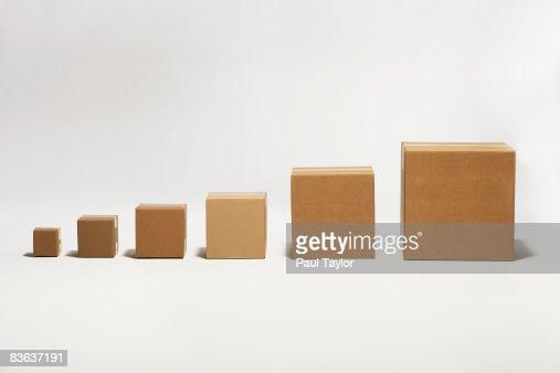 Boxes : Stock Photo
