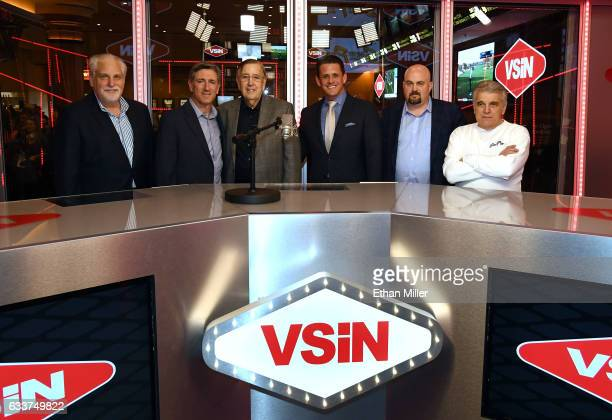 Boxing announcer and VSiN lead host Al Bernstein oddsmaker Vinny Magliulo retired sportscaster and VSiN managing editor and lead host Brent Musburger...