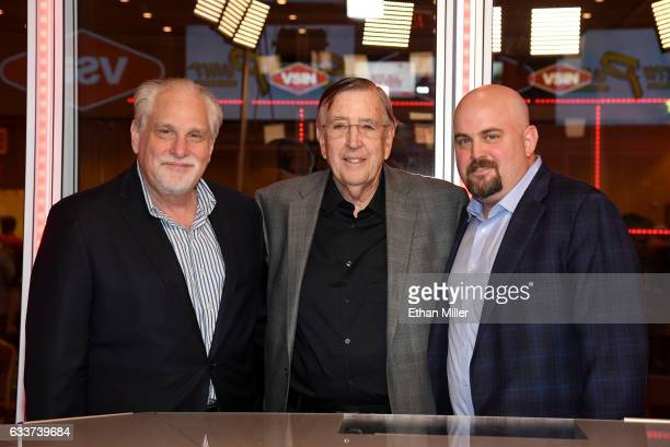 boxing announcer and VSiN lead host Al Bernstein retired sportscaster and VSiN managing editor and lead host Brent Musburger and his nephew VSiN...