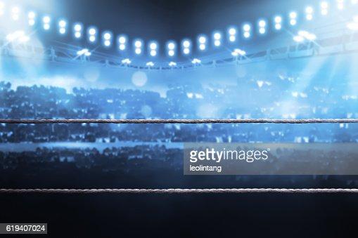 Boxing arena : Stock Photo