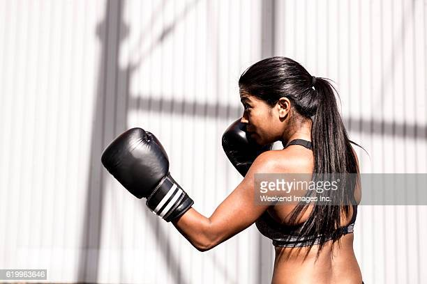 Boxing as a part of wellbeing practice