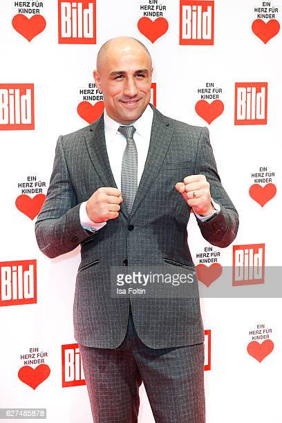 Boxing champion Arthur Abraham attends the Ein Herz Fuer Kinder gala on December 3 2016 in Berlin Germany