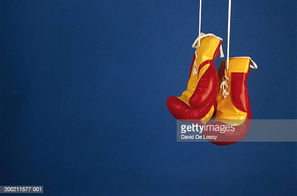 Boxing gloves, close up