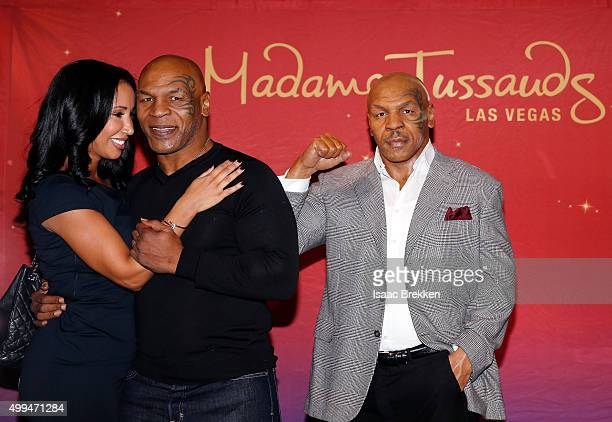 Boxing legend and entertainer Mike Tyson who played a role in Warner Bros Pictures popular comedy trilogy 'The Hangover' and his wife Lakiha 'Kiki'...