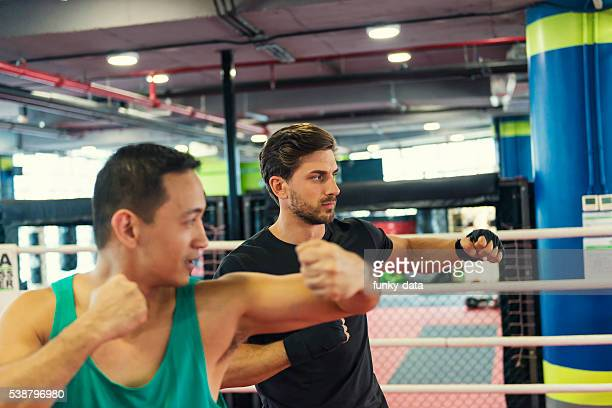 Boxing lesson fitness