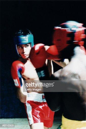 Boxing match : Stock Photo