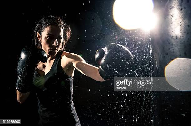 Puissance de boxe