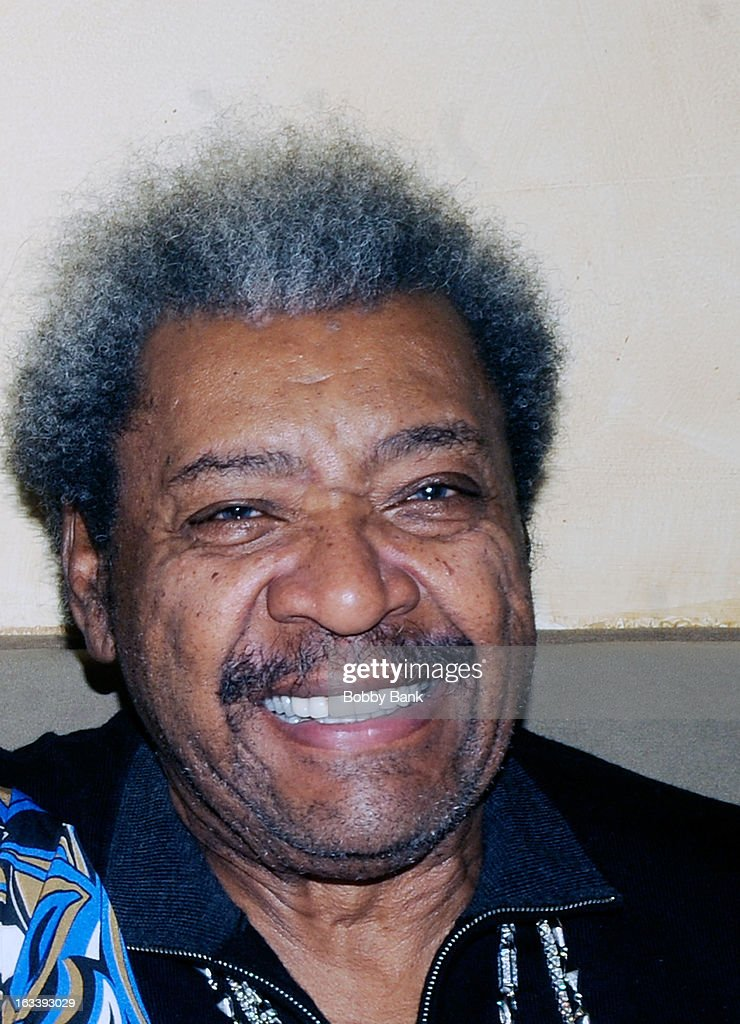 Boxing Promoter <a gi-track='captionPersonalityLinkClicked' href=/galleries/search?phrase=Don+King&family=editorial&specificpeople=171346 ng-click='$event.stopPropagation()'>Don King</a> seen on March 8, 2013 in New York City.