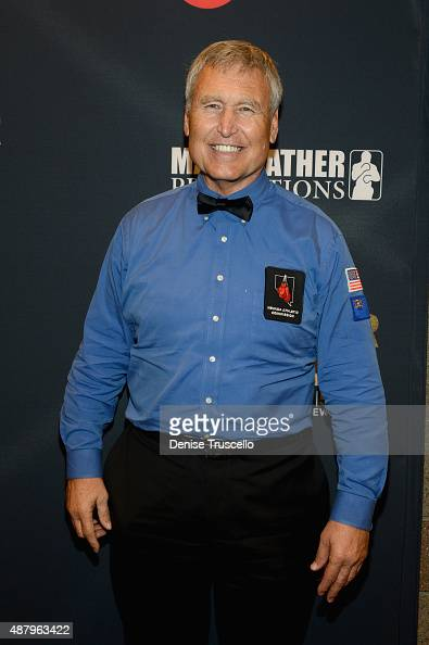 Boxing referee Jay Nady attends the VIP PreFight Party for 'High Stakes Mayweather v Berto' presented by Showtime at MGM Grand Garden Arena on...