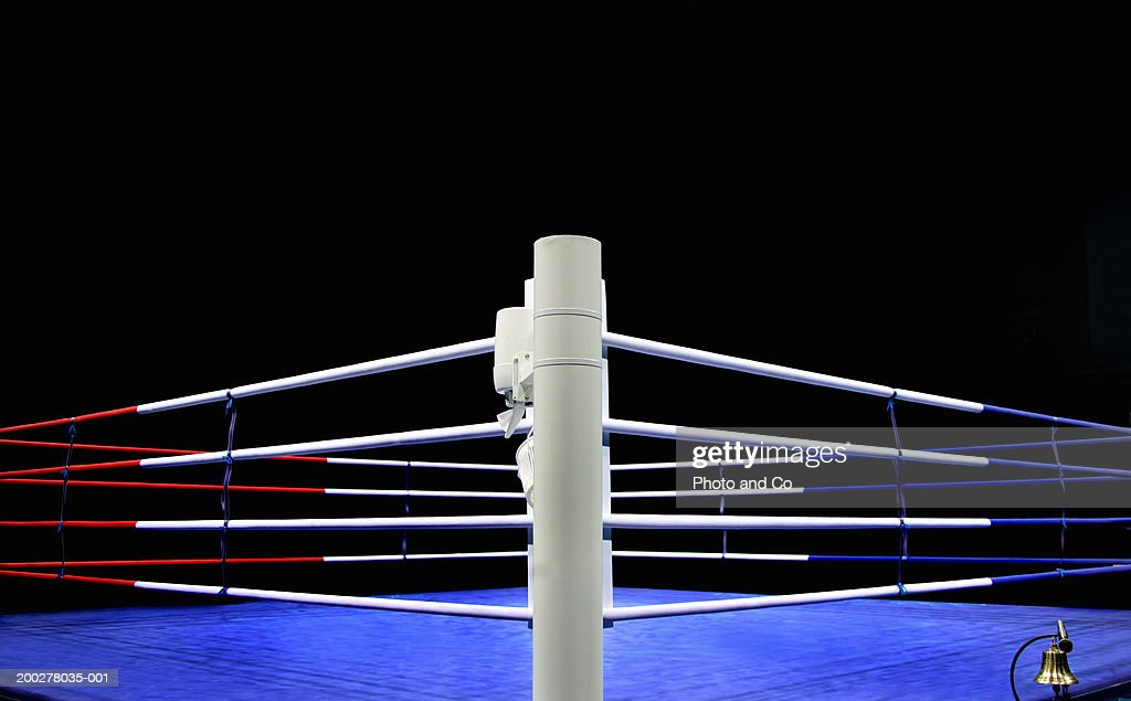 Boxing ring : Stock Photo