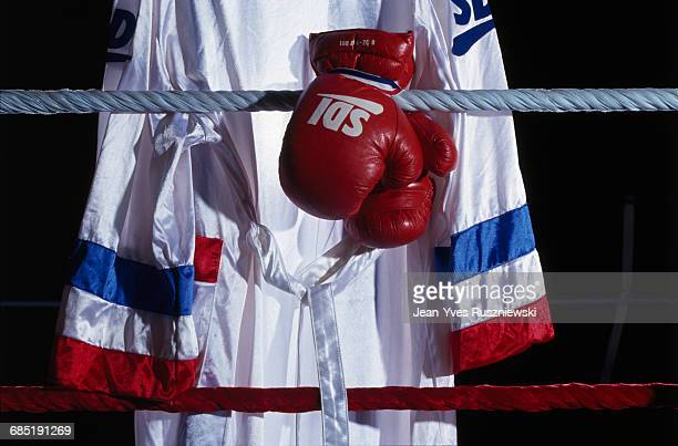 Boxing Robe and Gloves